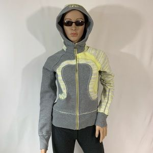 lululemon athletica Tops - Lululemon Special Edition Gray Scuba Hoodie